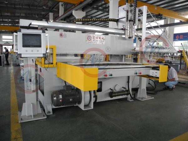 液压裁断机生产线自动化设备特点